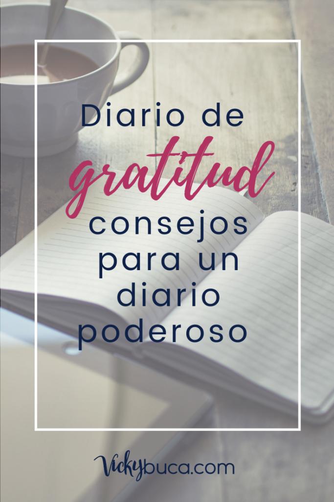 Diario de gratitud: consejos para un diario poderoso